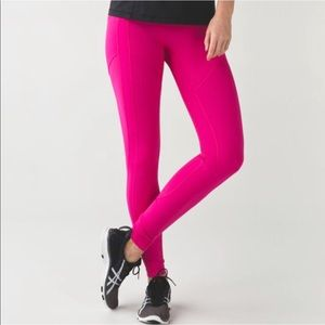NWT Lululemon All The Right Places Pant- Rasp. Sz6